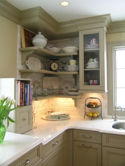 title | Kitchen Corner Shelf