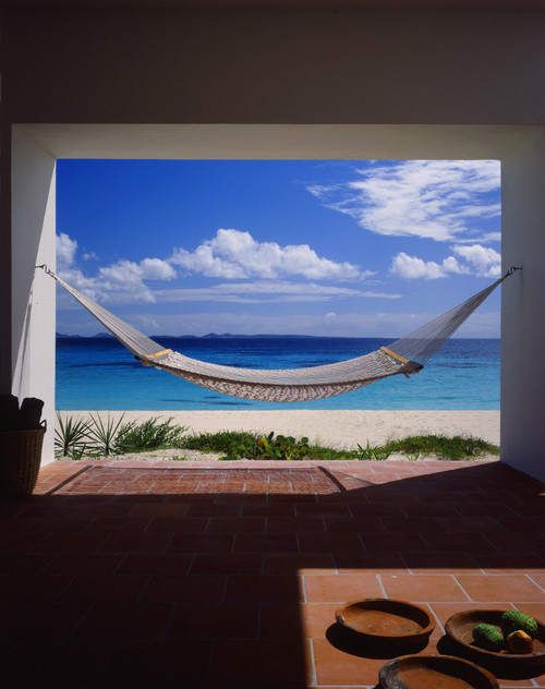 Covecastles, Anguilla, West Indies tropical patio