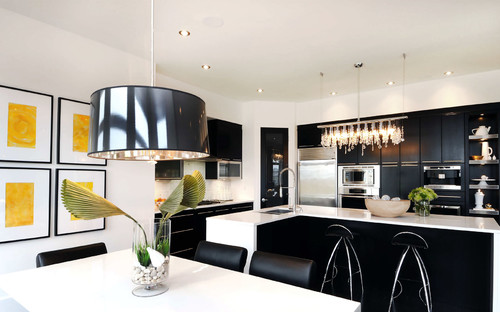 contemporary kitchen by Atmosphere Interior Design Inc.