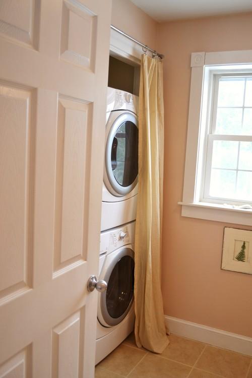 Laundry Closet eclectic closet
