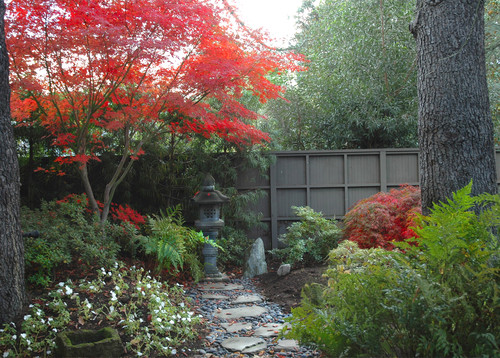 Stanford Garden traditional landscape