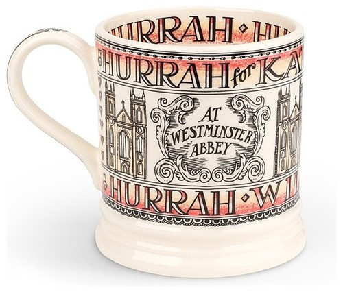 Royal Wedding Commemorative Mug eclectic dinnerware