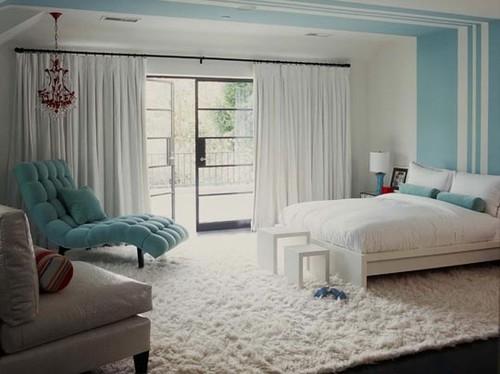 Whittier Drive modern bedroom