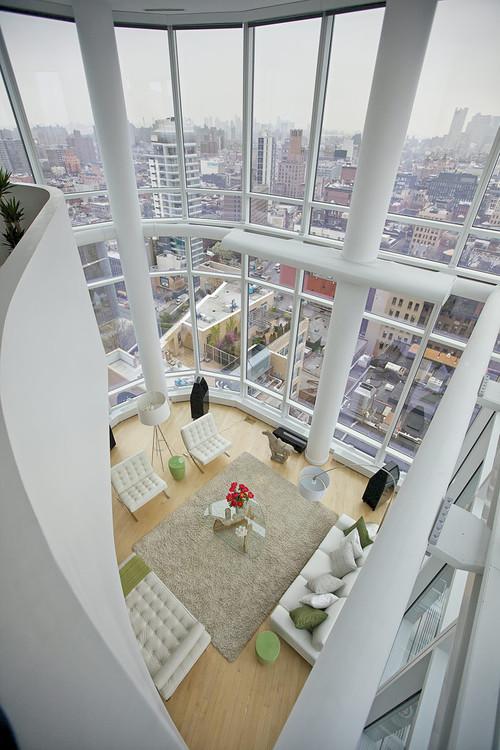 Chelsea Duplex Penthouse modern living room
