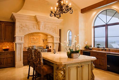 Gray Residence mediterranean kitchen