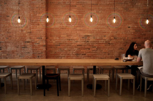 Apartment Therapy San Francisco | Brent Comber Tables at Vancouvers Salt Tastin