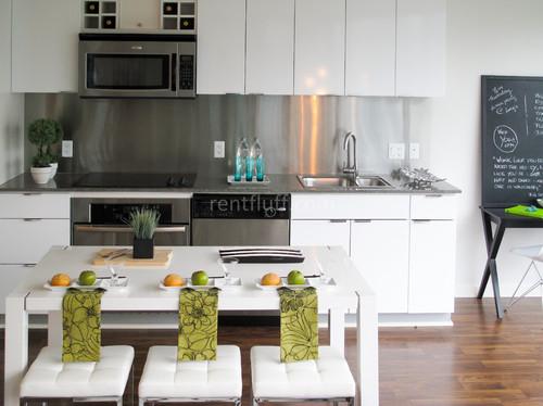 Condo kitchen contemporary kitchen