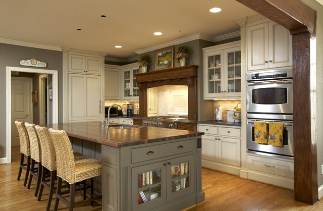 Gathering Place traditional kitchen