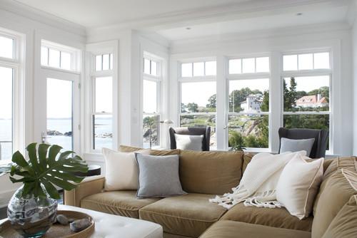 Rocky Ledge Living Room contemporary living room