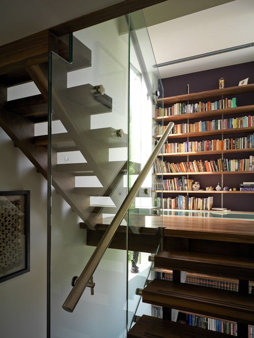 exedra architects contemporary staircase