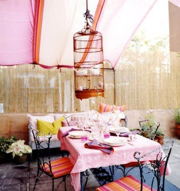 eclectic patio eclectic patio- dominomag