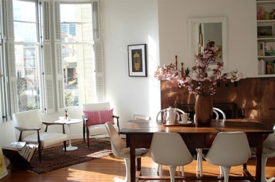 sfgirlbybay eclectic dining room