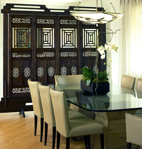 Bridge Design Studio asian dining room