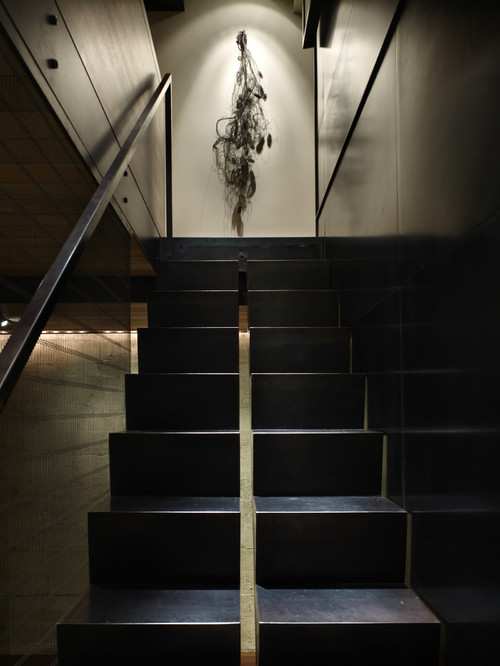 contemporary staircase by Garret Cord Werner