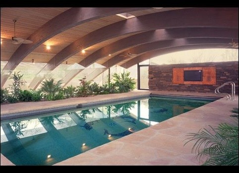 baldinger architectural studio contemporary pool