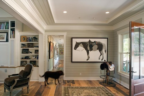 Lowcountry Residence traditional entry