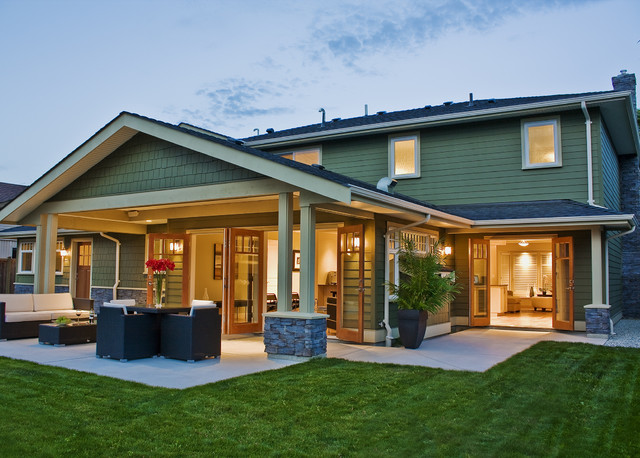 contemporary patio by Portal Design Inc