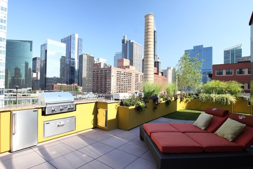 Chicago Green Design modern patio