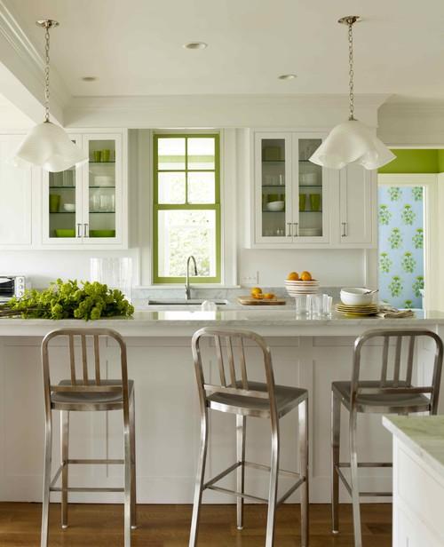 Katie Ridder Rooms contemporary kitchen