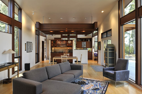 Living Room Exciting Furniture Layout Design