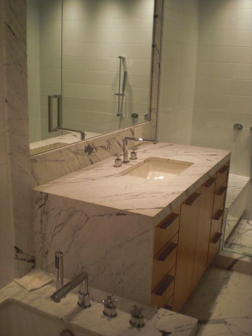 Design Trend Marble Amp Granite Waterfall Countertops Granite Grannies