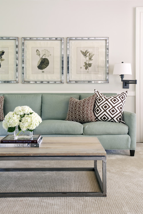 Pleasant Valley contemporary family room