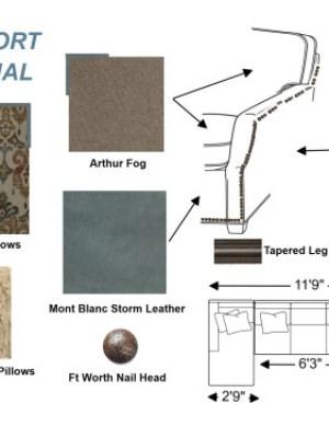 Zuniga Interiors contemporary living room