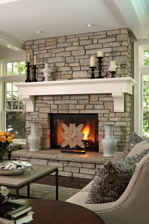 Casa Verde Design traditional living room
