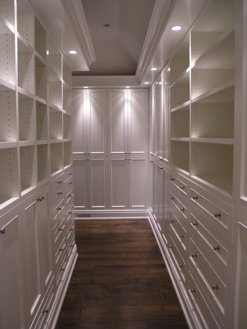 ensuite closet traditional closet