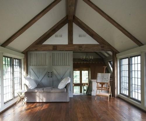 Yoga Studio traditional family room