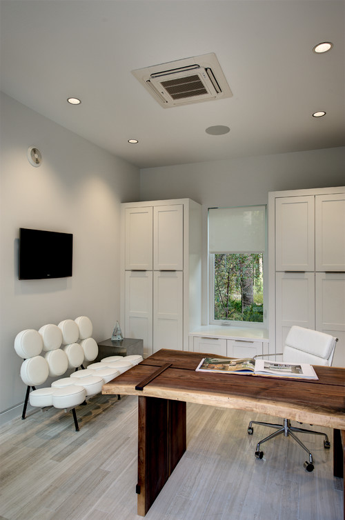 2012 New American Home contemporary home office