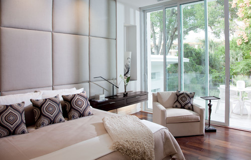 2012 New American Home contemporary bedroom