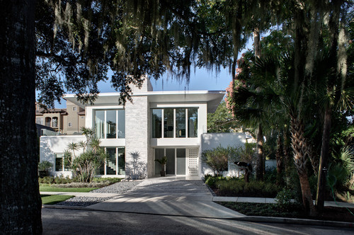 the new american home contemporary exterior