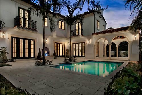 5,000+ s.f. Residence in Coral Gables, FL mediterranean pool