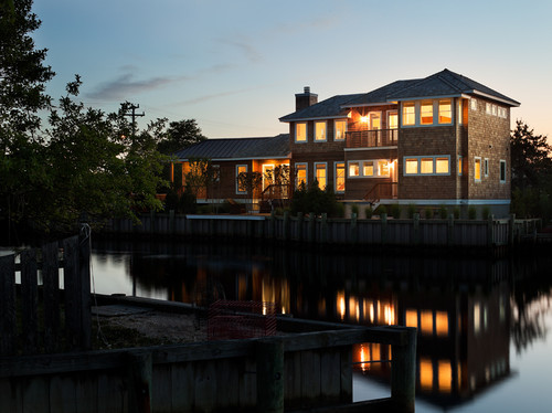 New Moon Cottage contemporary exterior