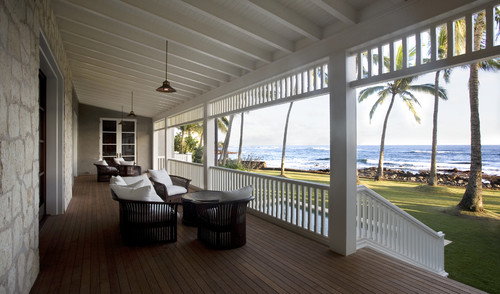 Hawaii Residence - Porch tropical porch