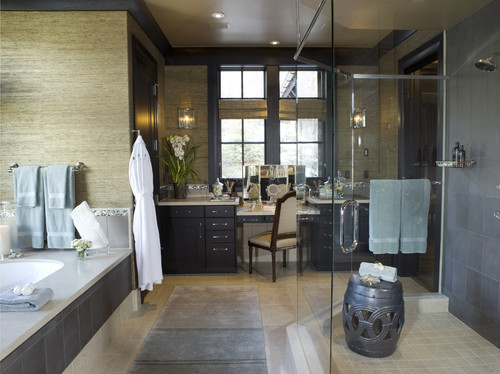 AMINE RESIDENCE contemporary bathroom