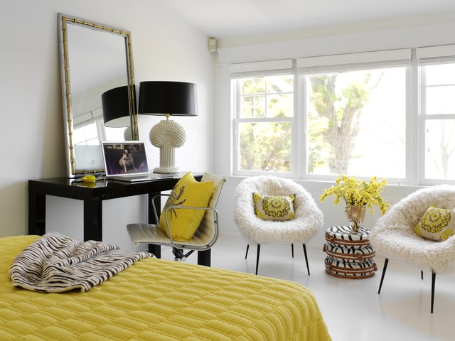 eclectic bedroom by Tara Seawright