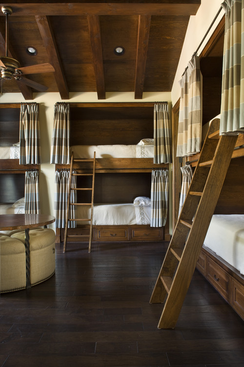 JAUREGUI Architecture Interior Construction mediterranean bedroom