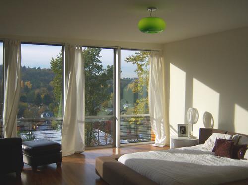 Crane Residence modern bedroom