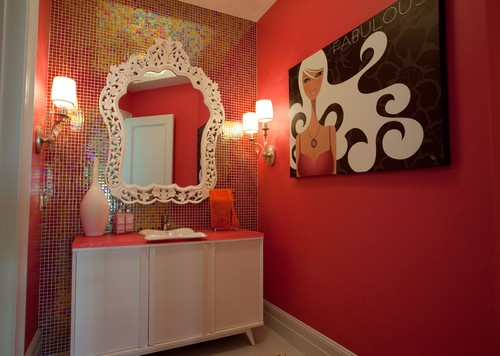 modern bathroom by Stephanie Norris