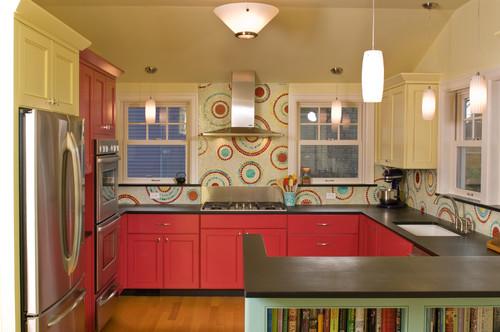 Kitchen, bath, office contemporary kitchen
