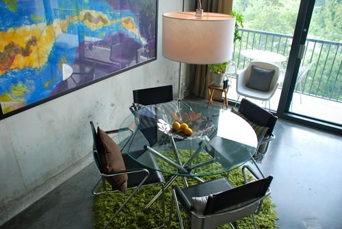 Lucass Loft modern dining room