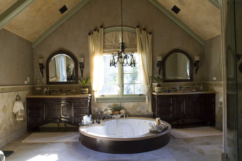 Tuscan Project mediterranean bathroom