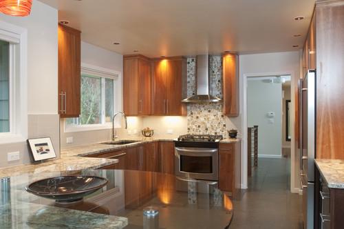 contemporary kitchen by Jason Ball Interiors