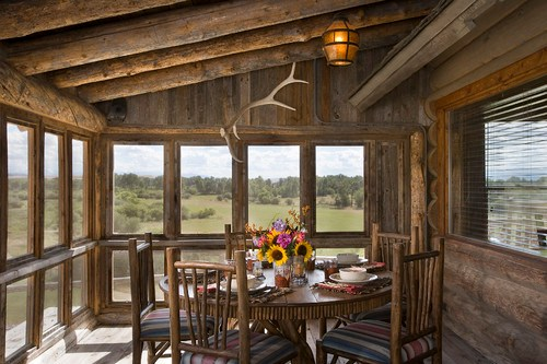 Montana mix traditional porch