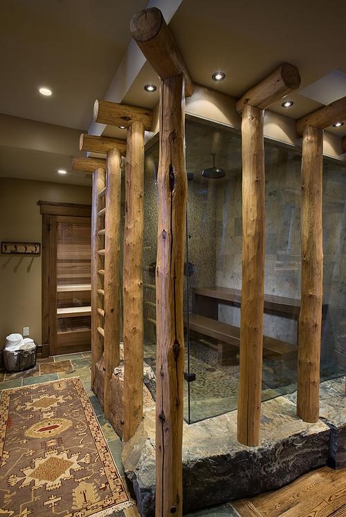 eclectic bathroom by Design Associates - Lynette Zambon, Carol Merica