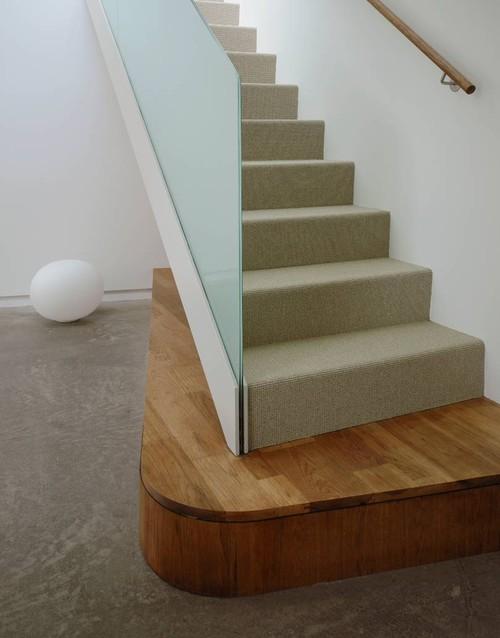 Kaplan Wright House LA modern staircase