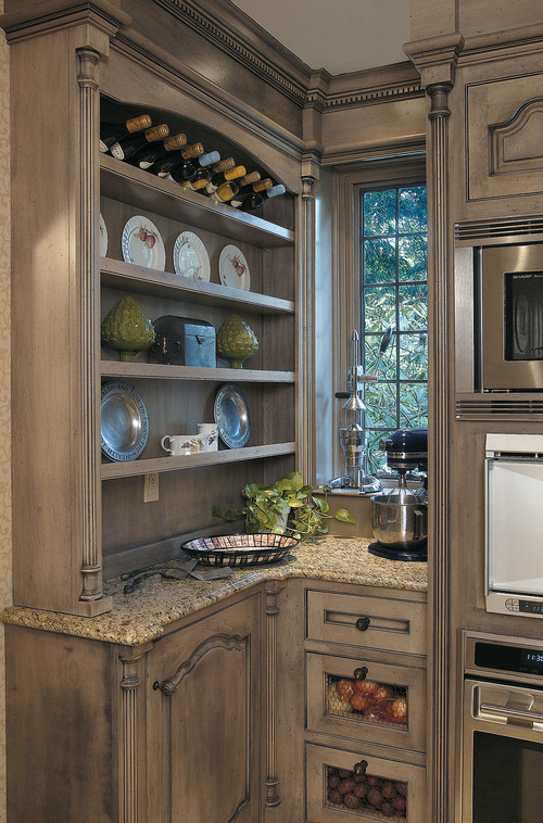 Crystal Cabinetry traditional kitchen