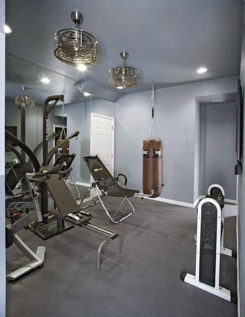 Home gym color calling